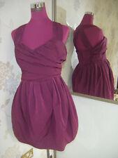 Belle all saints elliah robe mulberry taille 10 excellent état