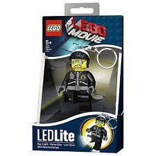THE LEGO MOVIE BAD COP LED LITE TORCH BRAND NEW GREAT GIFT KEYLIGHT