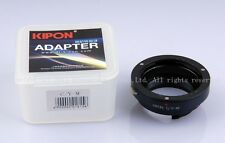 Kipon Adapter CONTAX/YASHICA Y/C C/Y to Leica M240 M9 Ricoh M mount RF uncoupled