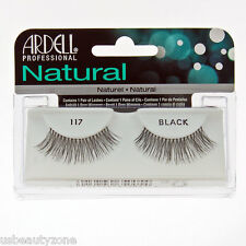 1 ARDELL FASHION LASHES / BLACK FAKE FALSE EYELASHES - #117