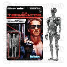 Arnold Schwarzenegger Terminator Chrome T-800  3-3/4 Retro FUNKO ReAction Figure