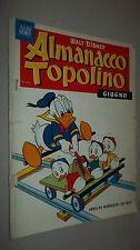 ALMANACCO TOPOLINO N. 6  1959