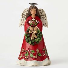 Jim Shore 2016 JOY TO OUR WORLD Pint Sized Angel With Wreath Figurine 4053820