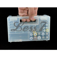 Large AAA AA C D 9V Battery Storage Holder Hard Plastic Case Box Bag Rack チ