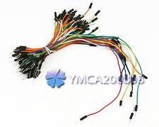 65X Cable de Puente Jumper Wires para Protoboard Breadboard Arduino Buena Venta