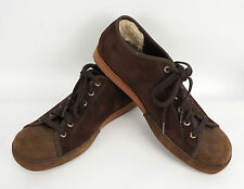 Mens Uggs Brown Suede Lace up Sneakers 10.5M s/n 5641