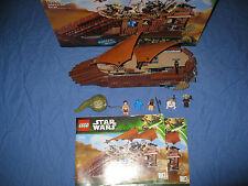 Lego Star Wars 75020 Jabba´s Sail Barg, vollständig mit BA und OVP