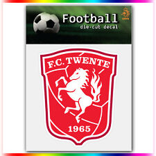 "FC Twente UEFA Die Cut Vinyl Sticker Car Bumper Window 4""x3.3"""
