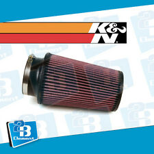 "K&N RE-0870 Round Cone Universal Air Filter 4"" Diameter Opening For Turbo or NA"