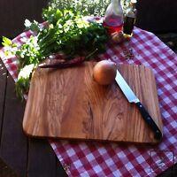 Schneidebrett Schneidbrett Olivenholz Holz Brett Frühstücksbrett Vesperbrett