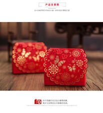 20x Red Candy Box Wedding Party Favors Gift Box