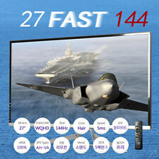 New Crossover 27 FAST 144 DP HDMI AH-VA 144Hz 2560x1440 Monitor+Remote