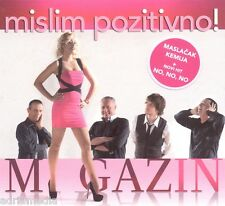 MAGAZIN CD Mislim pozitivno Album 2014 Croatia Records Tonci Huljic Split Zadar