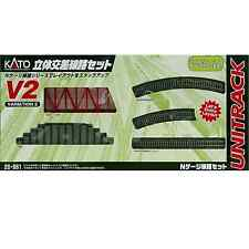 Kato 20-861 Unitrack V2 Viaduc Voie Simple / Single Track Viaduct Set - N