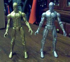 Marvel 2 Prototype  Spider-Man 6 Inch Action Figures plus one regular (fodder)
