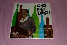 Gertrude Behanna - God Isn't Dead - Word Records W-3179-LP - FAST SHIPPING!!