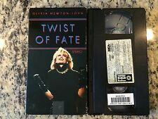 OLIVIA NEWTON-JOHN TWIST OF FATE RARE OOP VHS! 1983 DUET WITH JOHN TRAVOLTA HTF!