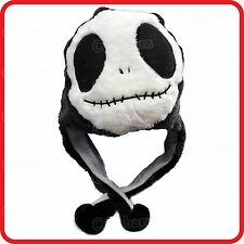 SKULL ALIEN PANDA GHOST CARTOON PLUSH FLUFFY HOODED HAT BEANIE EARMUFF-HALLOWEEN