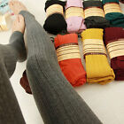 Trendy Women Winter Warm Skinny Slim Leggings Stretch Knitted Thick Stirrup Pant