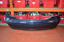 MERCEDES C CLASS W203 C200 COUPE REAR BUMPER IN TANZANITE BLUE METALLIC