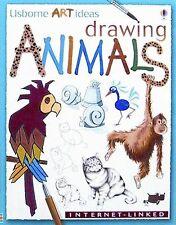 Drawing Animals: Internet-Linked (Usborne Art Ideas)