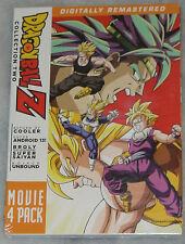 Dragon Ball Z: Movie Pack Collection Two 2 (Movies 6-9) - DVD Box Set - SEALED