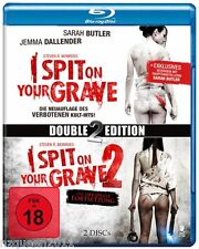 Steven R. Monroe's I spit on your grave 1 & 2 (Double-BluRay-Edition) *NEU&OVP*