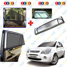 Magnetic Sun Shades Car Curtain & Aluminium Sunblock For Fiesta-Classic