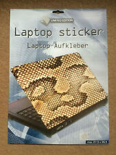 Laptop Cover Skin Sticker - Snakeskin - 27.5 x 36.6cm