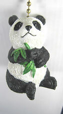Ceiling Fan Or Light Panda Bear eating Bamboo home decor