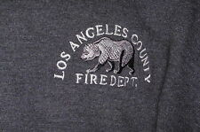 """""""LA Co Fire Department"""" Sweatshirt Embroidered Firefighter Item –XL"""
