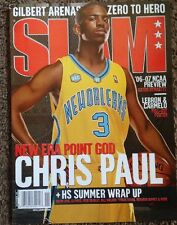 2006 Nba Slam Magazine Chris Paul Clippers Rare Basketball Issue W/ Poster