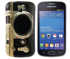 TPU Case f Samsung Galaxy Trend Lite S7390 Schutzhülle Cover Tasche Kamera Foto