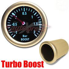 """52mm 2.0"""" 12V 270 Degree WHITE Light PERFORMANCE Auto Gauge Meter TURBO BOOST"""