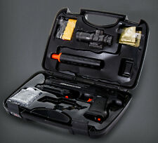 A new firing system WITH water crystal ammo bb bullets,WITH hard plastic gunCASE