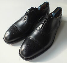 Crockett & Jones 12 12E black brogue Oxford NEW shoes Hansbury inc bags & trees