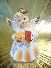 RARE VTG Nippon Japan Halloween October Birthday Angel Girl Figurine