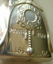 BABY BELL BIRTH  RECORD RARE  PENDANT   STERLING  SILVER   VINTAGE by WEBSTER