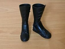 1/6 scale Hot Toys DX09 Batman 1989 Michael Keaton boots with pegs