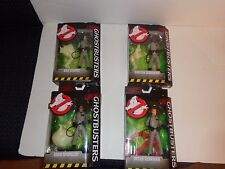PARANORMAL COMPLETE 4 PC GHOSTBUSTER ACTION FIGURE LOT NO GHOST GLOW N DARK LOGO