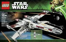 New & Sealed - RED 5 X-WING STARFIGHTER - Star Wars UCS Lego Set #10240 w/ R2-D2