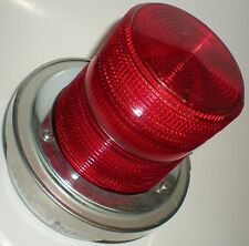 ELECTRICAL INDUSTRIAL MACHINE WARNING BEACON EDWARDS 50CR-N5-40WH 120V RED