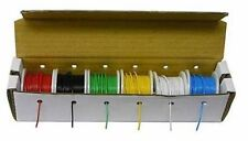 WK106A Hook-Up Wire Kit-Solid-22 Gauge-25 ft. Spools-6 Assorted Colors-in box
