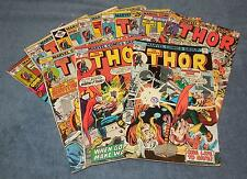 THOR - Low Grade - Lot of 10 | 236 240 242 246 250 259 261 262 266 & 291 ave G+