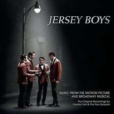 JERSEY BOYS SOUNDTRACK & BROADWAY MUSICAL CD NEW