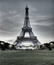 Eiffel Tower Photo Backdrop Scenic Studio Canvas Photography Backgrounds 5x7ft