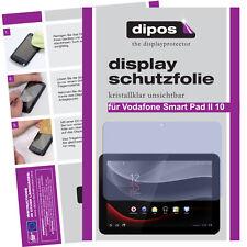 2x Vodafone Smart Pad II 10 Pellicola Prottetiva Transparente Proteggi Schermo