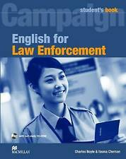 -English For Law Enforcement  BOOK NEW