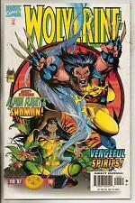 Marvel Comics Wolverine #110 February 1997 Shaman VF+