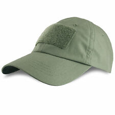 Bulldog Operator Tactical Military Army Velcro Patch Baseball Cap Hat OD Green